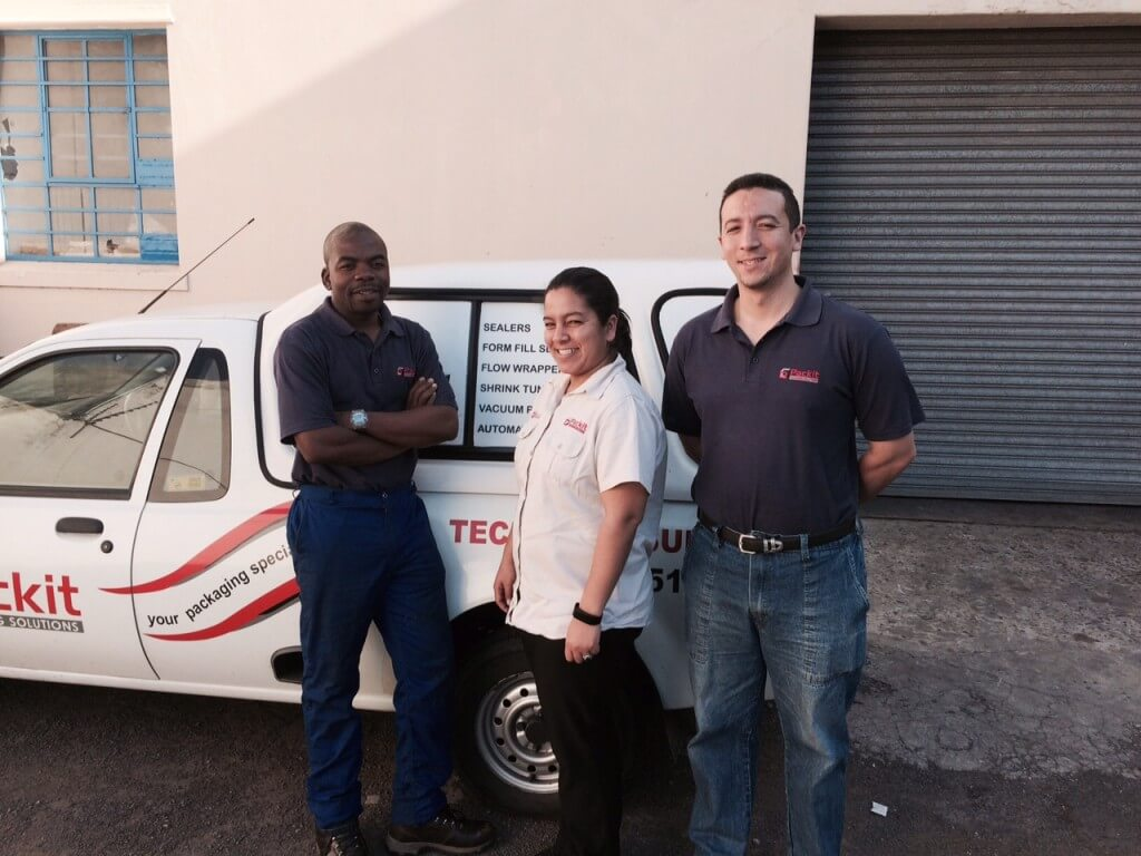 Packit Technical Team - Cape Town