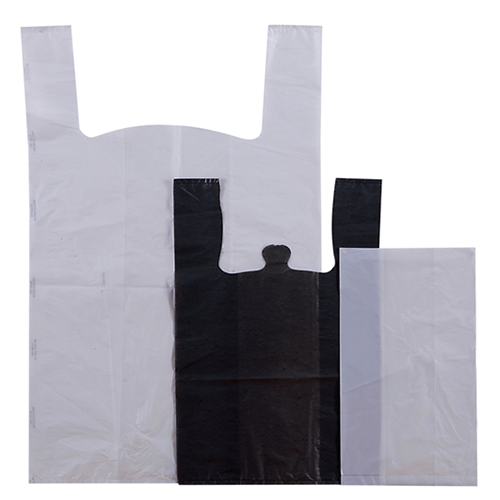 Plastic Carrier Bags Food Packaging Supplies